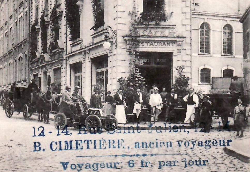 Hôtel Continental en 1904