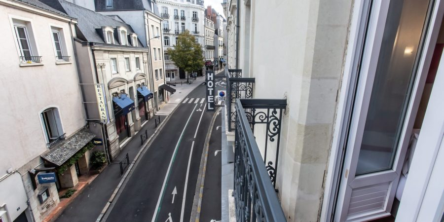 Rue piétonne d'Angers